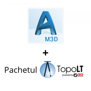 Pachet AutoCAD Map 3D TopoLT ProfLT TransLT