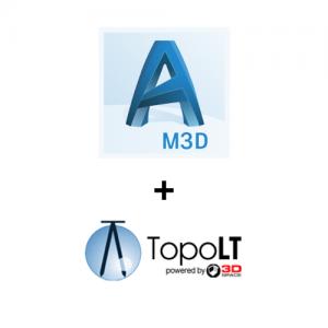 Pachet AutoCAD Map 3D si TopoLT