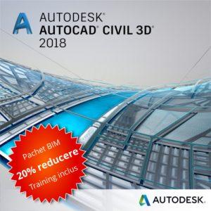 Civil 3D 2018 Pachet BIM Promo
