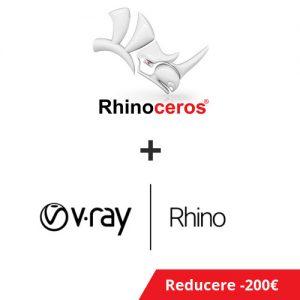 Pachet Rhino si V-Ray for Rhino PROMO