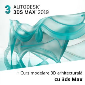 3ds Max 2019 si Curs modelare 3D cu 3ds Max