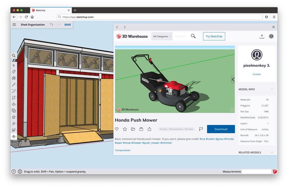 sketchup-for-web-cadware-engineering